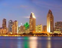 Ciudad de San Diego California Fotos de archivo libres de regalías