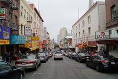 Ciudad de San Francisco China Imágenes de archivo libres de regalías