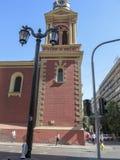 Ciudad de Santiago, chile Foto de archivo libre de regalías