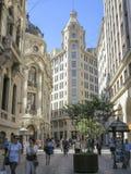 Ciudad de Santiago, chile Foto de archivo