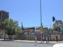 Ciudad de Santiago, chile Fotografía de archivo