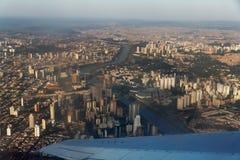 Ciudad de Sao Paulo Imagen de archivo libre de regalías