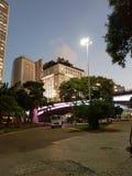 Ciudad de Sao Paulo, el Brasil Fotos de archivo