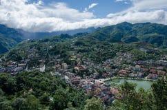 Ciudad de Sapa Imagen de archivo libre de regalías