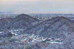 Ciudad de Sapporo Imágenes de archivo libres de regalías