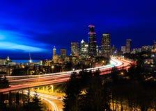 Ciudad de Seattle Imagen de archivo