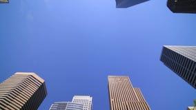 Ciudad de Seattle que conduce la opinión del cielo almacen de metraje de vídeo