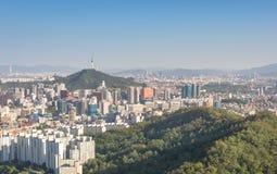Ciudad de Seul, Corea del Sur Foto de archivo libre de regalías