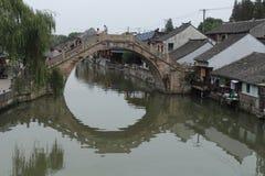 Ciudad de Shangai Fengjing en el otoño Fotografía de archivo libre de regalías