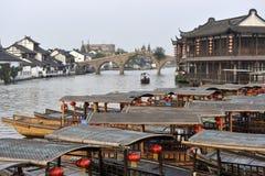Ciudad de Shangai Zhujiajiao Imagen de archivo