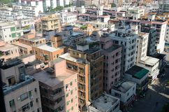 Ciudad de Shenzhen - casas residenciales Fotos de archivo libres de regalías