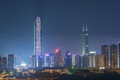 Ciudad de Shenzhen, China Fotos de archivo libres de regalías