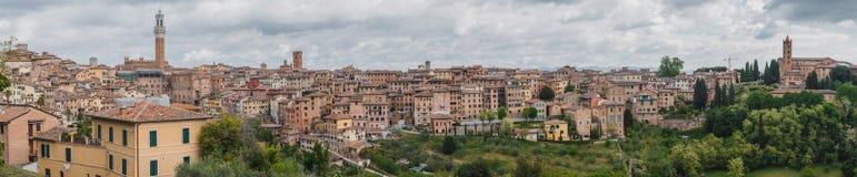 Ciudad de Siena fotos de archivo libres de regalías