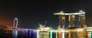 Ciudad de Singapur Fotografía de archivo