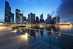 Ciudad de Singapur imagen de archivo
