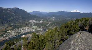 Ciudad de Squamish Fotografía de archivo