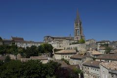 Ciudad de St. Emilion Imagenes de archivo