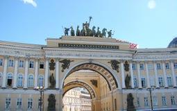 Ciudad de St Petersburg Rusia Paisajes de la parte histórica y de las calles centrales Imagen de archivo