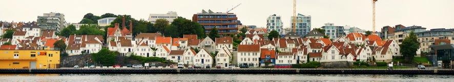 Ciudad de Stavanger Imagenes de archivo