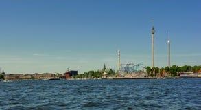 Ciudad de Suecia Estocolmo foto de archivo libre de regalías