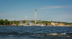 Ciudad de Suecia Estocolmo Fotografía de archivo