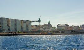 Ciudad de Suecia Estocolmo Fotos de archivo libres de regalías