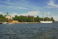 Ciudad de Suecia Estocolmo imagen de archivo libre de regalías