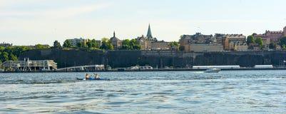 Ciudad de Suecia Estocolmo Imagen de archivo