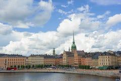 Ciudad de Suecia Estocolmo Imágenes de archivo libres de regalías