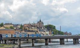 Ciudad de Suecia Estocolmo imagenes de archivo