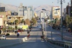 Ciudad de Sulaimania, Kurdistan Iraq imagen de archivo libre de regalías