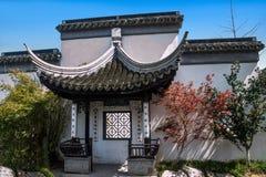Ciudad de Suzhou, casas de ciudad antigua del Lu Zhi Foto de archivo libre de regalías