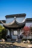 Ciudad de Suzhou, casas de ciudad antigua del Lu Zhi Imágenes de archivo libres de regalías