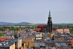 Ciudad de Swidnica fotografía de archivo
