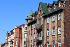 Ciudad de Swietochlowice, Polonia Imagen de archivo libre de regalías