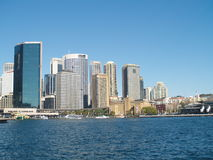 Ciudad de Sydney Imágenes de archivo libres de regalías