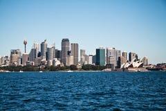 Ciudad de Sydney Fotos de archivo