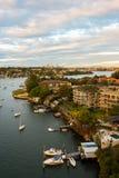 Ciudad de Sydney Foto de archivo