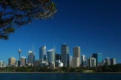 Ciudad de Sydney Imagen de archivo libre de regalías