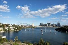 Ciudad de Sydney fotos de archivo libres de regalías