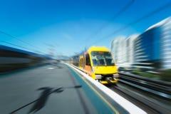 Ciudad de Sydney de la estación de tren imágenes de archivo libres de regalías