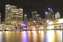 Ciudad de Sydney del puerto querido imagen de archivo libre de regalías