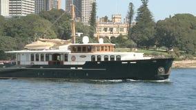 Ciudad de Sydney por mañana del verano almacen de video