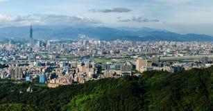 Ciudad de Taipei imagenes de archivo