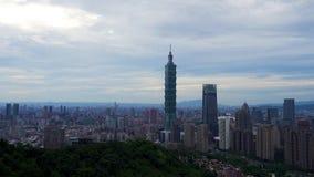 Ciudad de Taipei, Taiwán almacen de video