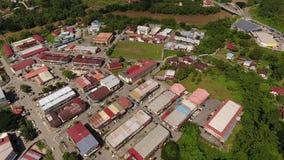 Ciudad de Tamparuli almacen de metraje de vídeo