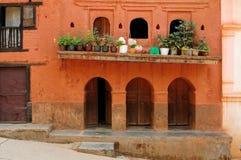 Ciudad de Tansen en Nepal imagen de archivo