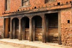 Ciudad de Tansen en Nepal foto de archivo