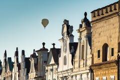 Ciudad de Telc, República Checa, UE imagen de archivo