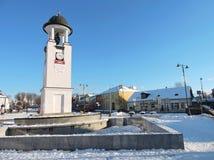 Ciudad de Telsiai, Lituania Fotos de archivo libres de regalías